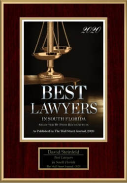 David Steinfeld Best Lawyers in South Florida 2020