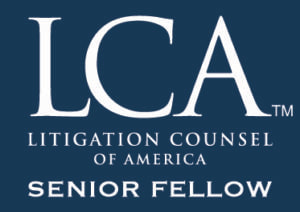 David Steinfeld Litigation Counsel of America Senior Fellow